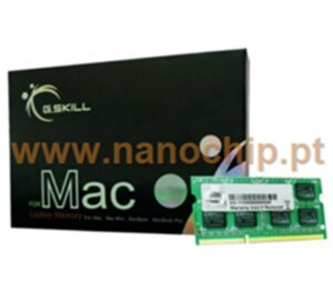 MEMÓRIA G.SKILL SODIMM 4GB DDR3 1066MHz CL7 SQ PC8500 MAC