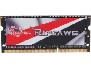 MEMÓRIA G.SKILL SODIMM 8GB DDR3 1600MHz CL9 Ripjaws