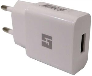 Carregador HALFMMAN 5V 2.1A Branco