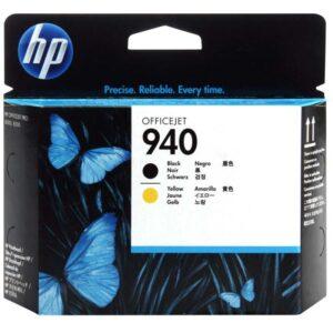 Cabeça de Impressão HP Nº940 Preto/Amarelo - C4900A