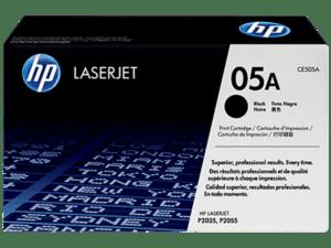 Toner HP Laserjet P2035/P2055 Preto - CE505A