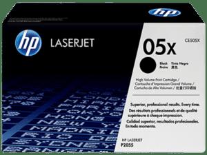 Toner HP Laserjet P2055 Preto - CE505X
