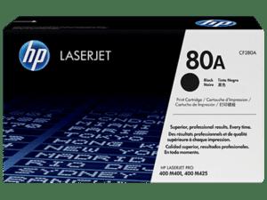 Toner HP Laserjet 80A Preto - CF280A