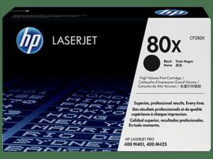 Toner HP Laserjet 80X Preto - CF280X
