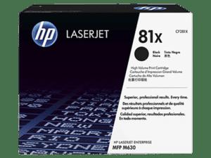 Toner HP Laserjet 81A Alta Capacidade Preto  - CF281X