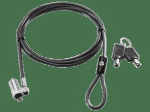 CADEADO HP Ultraslim Keyed Security 1,8m - H4D73AA