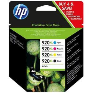 Tinteiro HP Multipack Nº920XL Preto/Amarelo/Cyan/Magenta