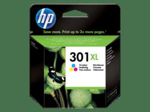 TINTEIRO HP Nº301XL Cores - CH564EE
