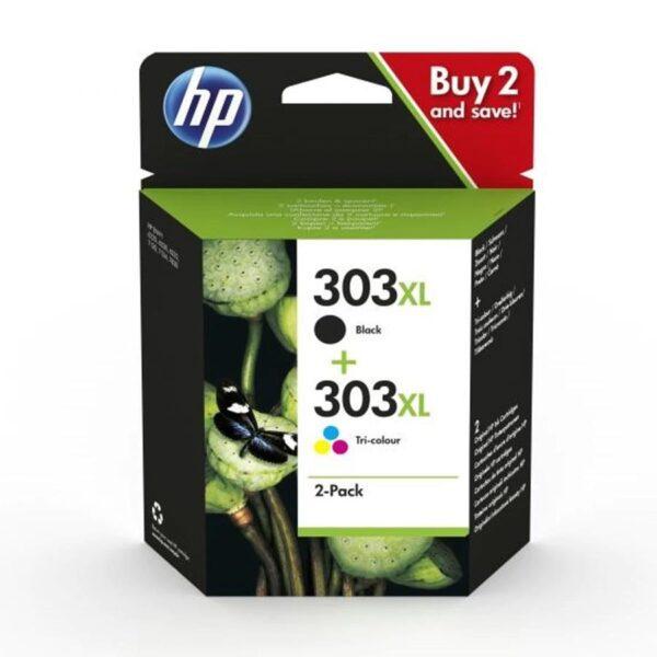 Tinteiro HP Nº303XL Preto e Nº303XL Cores Combo Pack - 3YN10AE