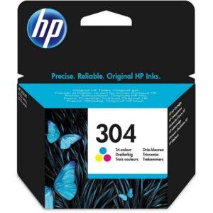 Tinteiro HP Nº 304 Cores - N9K05A
