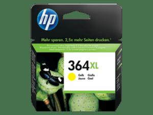 TINTEIRO HP Nº364XL Amarelo - CB325EE