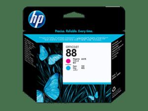 Cabeça Impressão HP Nº88 Magenta e Cyan - C9382A