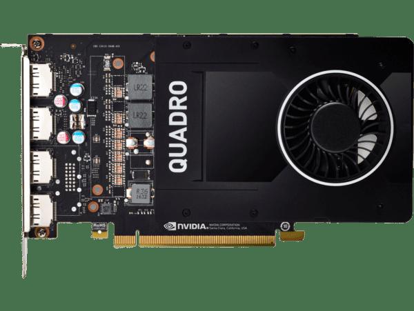 Placa Gráfica HP NVIDIA Quadro P2200 5GB GDDR5