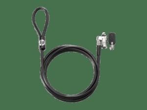 CADEADO HP Keyed Cable Lock 10mm 1,8m - T1A62AA