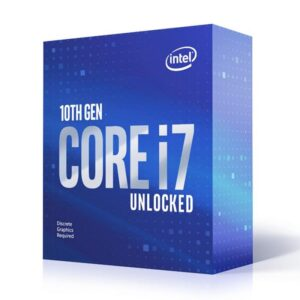 Processador INTEL Core i7 10700KF 3.80GHz 16MB Socket 1200