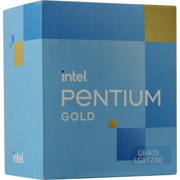 Processador INTEL Pentium Gold G6405 4.10GHz 4MB Socket 1200 BOX