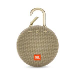 Coluna JBL Clip 3 Portátil Bluetooth Dourado