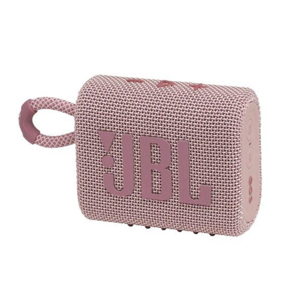 Coluna JBL GO 3 Portátil Bluetooth Rosa