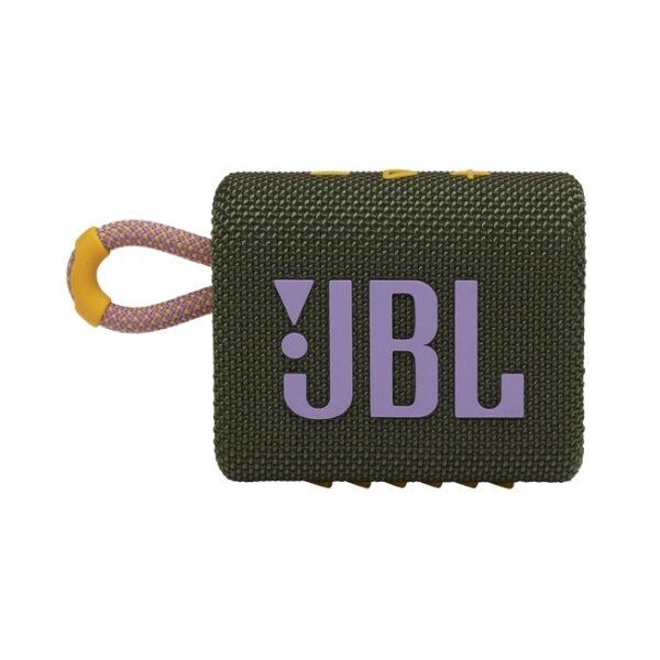 Coluna JBL GO 3 Portátil Bluetooth Verde/Rosa