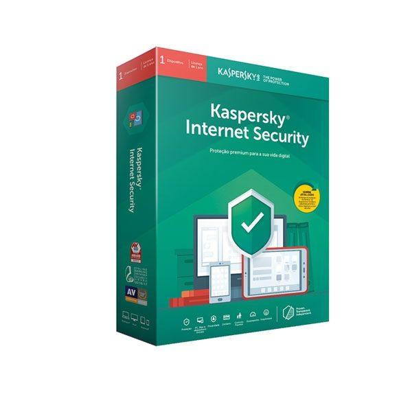 Software Kaspersky Internet Security 2021 - 1 Dispositivos 1 Ano