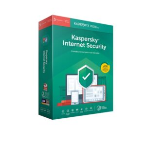 Software Kaspersky Internet Security 2021 Multi-Device 5 Users 1 Ano