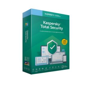 Software Kaspersky Total Security 2021 5 Dispositivos - 1 Ano