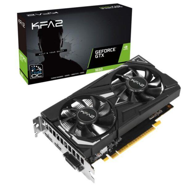 Placa Gráfica KFA2 GeForce GTX1650 EX 1-CLICK OC 4GB GDDR5