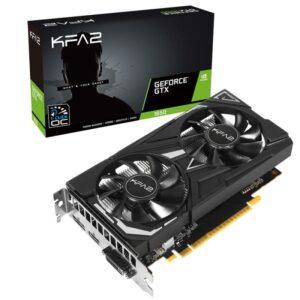 Placa Gráfica KFA2 GeForce GTX1650 EX 1-CLICK OC 4GB PLUS