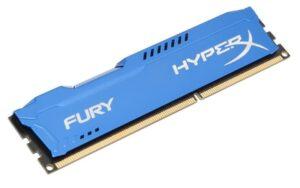 MEMÓRIA KINGSTON HyperX Fury Blu 4GB DDR3 1600MHz CL10