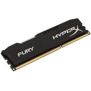 MEMÓRIA KINGSTON HyperX Fury Black 4GB DDR3 1600MHz CL10