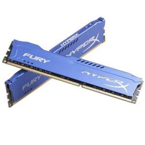 MEMÓRIA KINGSTON HyperX Fury Blue KIT 2X8GB DDR3 1600Mhz
