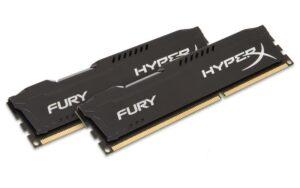 MEMÓRIA KINGSTON HYPERX FURY BLACK KIT 2X8GB DDR3 1866Mhz