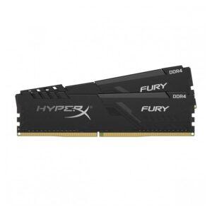 MEMÓRIA KINGSTON HyperX Fury Black KIT 16GB 2X8GB DDR4 3600MHz CL17