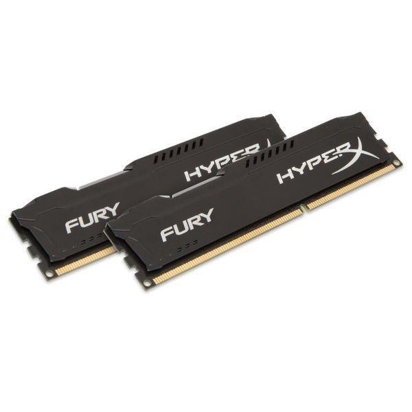 Memoria KINGSTON HyperX Fury Black KIT 32GB 2X16GB DDR4 3600