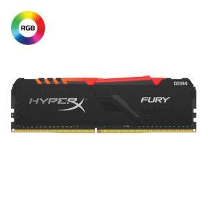 Memória KINGSTON HyperX Fury RGB 16GB DDR4 3200MHz CL16 Black