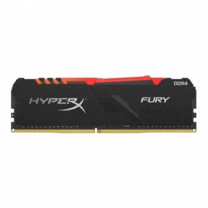 Memória KINGSTON HyperX Fury RGB 16GB DDR4 3200MHz CL16 Preto