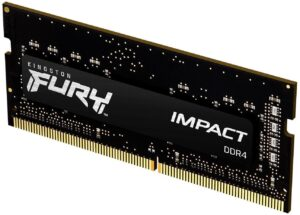 Memória KINGSTON SODIMM Fury Impact 16GB (1x16GB) DDR4 2933MHz CL17