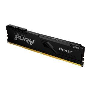 Memória KINGSTON Fury Beast 16GB (1x16GB) DDR4 3000MHz 1R CL16 Preta