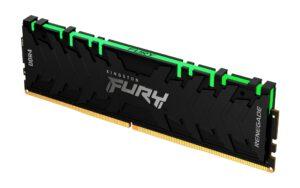 Memória KINGSTON Fury Renegade RGB 8GB (1x8GB) DDR4 3200MHz CL16 Preta