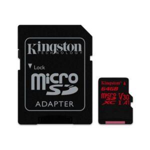 Cartão Memória KINGSTON Micro SD Canvas React 64GB CL10