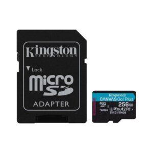 Cartão Memória KINGSTON Micro SD Canvas Go Plus 256GB V30