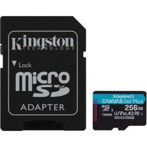 Cartão de Memoria KINGSTON Micro SD Canvas Go Plus 256GB