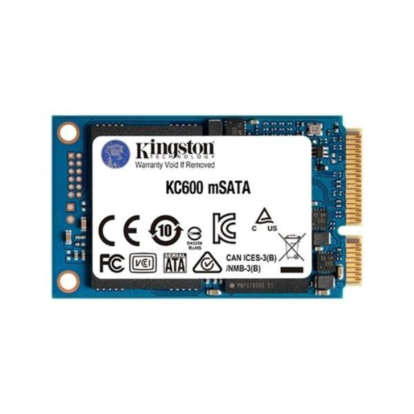 SSD KINGSTON KC600 256GB mSATA