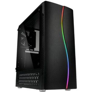 Caixa KOLINK Inspire K5 RGB Vidro Temperado Preto