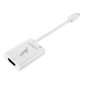 CONVERSOR LINDY USB 3.1 Type-C > HDMI 4K 60Hz - 43178