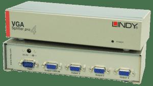 Splitter LINDY VGA Pro 4 Portas - 32572
