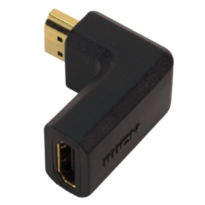 Adaptador LOGILINK HDMI Tipo A Fêmea / Macho 90º - AH0005
