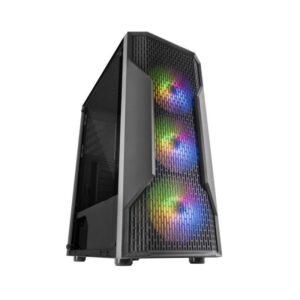 Caixa MARS GAMING MCA RGB Mesh Preto