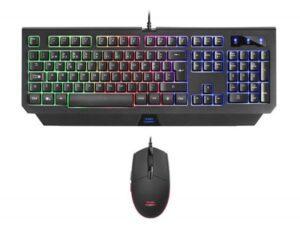Teclado e Rato MARS GAMING MCP100 Gaming RGB