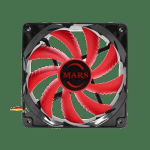 Ventoinha MARS GAMING 120mm LED Vermelho - MF12